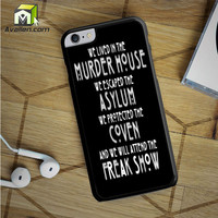 American Horror Story Asylum iPhone 6S Plus Case by Avallen