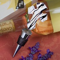 Murano Collection Cross Bottle Stopper