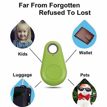 Bluetooth 4.0 Smart Tag Wireless Tracker Child Wallet Key Keychain Finder GPS Locator Anti Lost Alarm System L3EF