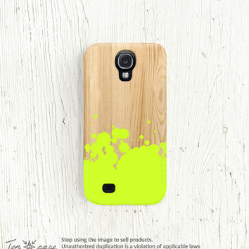Galaxy note 2 case neon Samsung galaxy s2 case wood Galaxy s4 case mint Galaxy s3 case peach hipster Samsung galaxy 3 case NOT WOOD /163