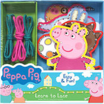 Peppa Pig Learn To Lace