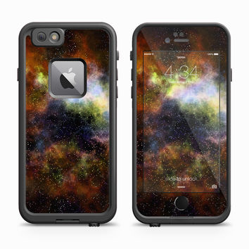 Amber and Green Smoke Field Skin for the Apple iPhone LifeProof Fre Case