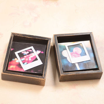 Creative Strong Character Gifts Handcrafts Wooden Photo Frame = 5893485505