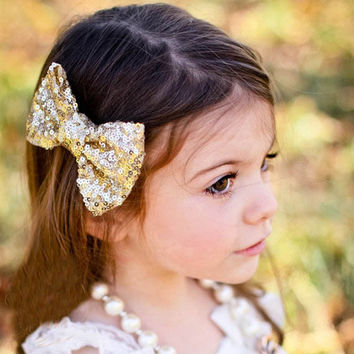 New Children Sequin Barrettes