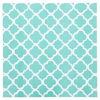 Style Tile 2.0 - Lucky Clover Fabric-Covered Tackboard