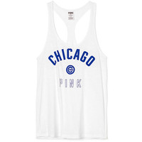Chicago Cubs Racerback Tanks - PINK - Victoria's Secret