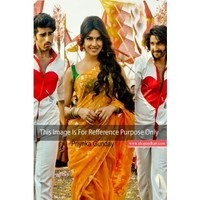 Bollywood gunday Priyanka chopra in Yellow Saree 219 | Shop 'N kart