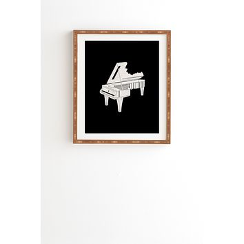Matt Leyen Music Is The Key 2 Framed Wall Art