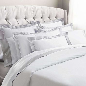 Amarante Egyptian Cotton Sateen Duvet Set