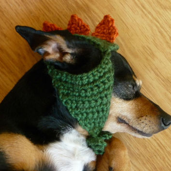 Hat for Dog CROCHET PATTERN Dinosaur hat Pet Hat Pet Supplies Halloween Costume for Dog Dino Hat Dinosaur Costume Cute Costume Dog in Hat