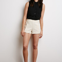 Textured Woven Shorts