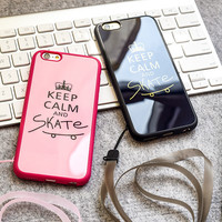 Stylish Cute Hot Deal On Sale Iphone 6/6s Crown Couple Apple Silicone Acrylic Mirror Phone Case [6338235396]