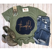Short sleeve Thankful Tees