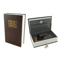 Streetwise Security Products Streetwise Locking Book Safe with Key