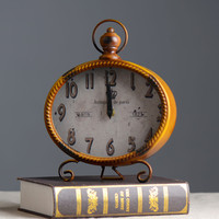 Creative Vintage Iron Home Decoration Clock [6282982150]