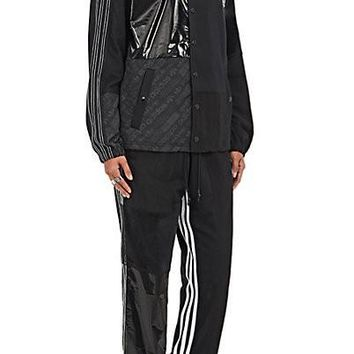 Black and White Combo Track Jacket by Alexander Wang