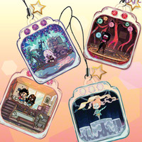 StevenU. My Terrarium Life Charms from Dark Grey Clouds