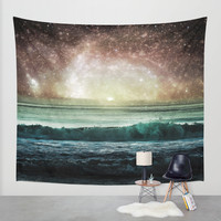 Event Horizon Wall Tapestry by Jenndalyn