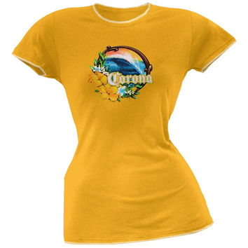 Corona - Wave Juniors T-Shirt