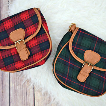 Mad for Plaid Crossbody