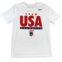 Nike Core USA Lacrosse Tee | Lacrosse Unlimited