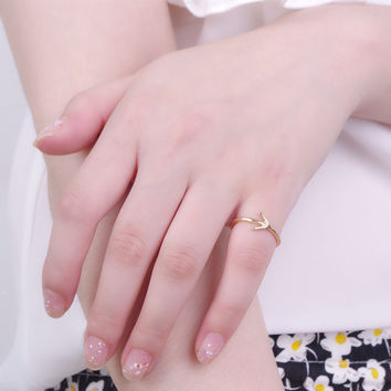 Gift Jewelry New Arrival Stylish Accessory Vintage Simple Design Metal Shiny Ring [4918840260]