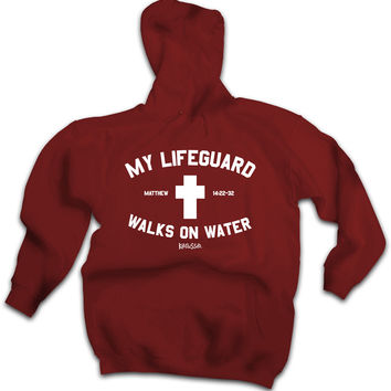 Lifeguard Adult Hooded Sweatshirt