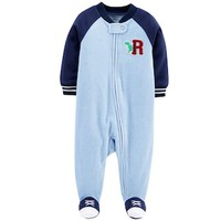 Baby Boy Carter's Dinosaur Microfleece Sleep & Play | null