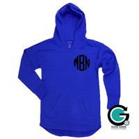 CUSTOM Printed Monogram Sideline Hoodie -- Perfect for Spring!