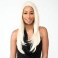 R&B SR James Prestige Swiss Silk Lace Front Wig Synthetic Heat Resistant