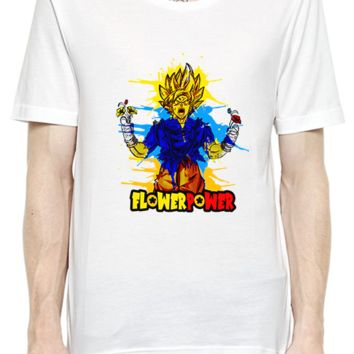Funny Super Hero Flower of  Power Fashion Unisex T-Shirt