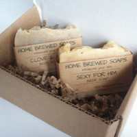 Mens Soap Gift Set Beer Soap for Men Gifts for Guys
