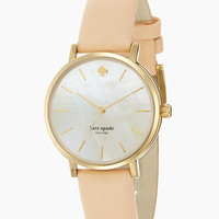 Kate Spade Metro Watch Gold/Vachetta ONE