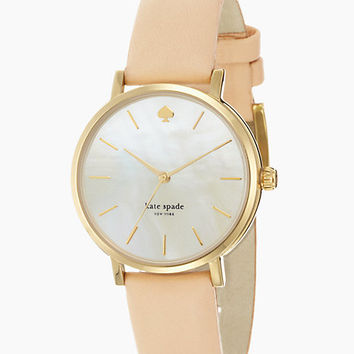Kate Spade Metro Watch Vachetta/Gold ONE