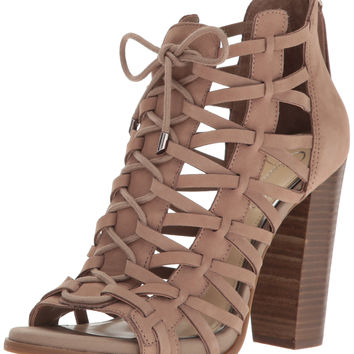 Jessica Simpson Women's Riana Ankle Bootie Warm Taupe 5.5 B(M) US '