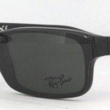 Custom Fit Polarized CLIP-ON Sunglasses For RAY-BAN 5187 52X16 RB5187