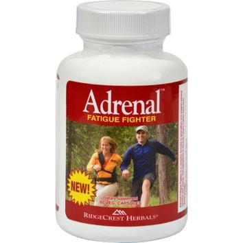 RidgeCrest Herbals Adrenal Fatigue Fighter - 60 Vegetarian Capsules