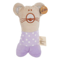 Olives and Pickles Organic Mouse Rattle