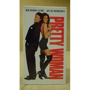 Touchstone Pretty Woman VHS Movie  * Plastic * -- Used