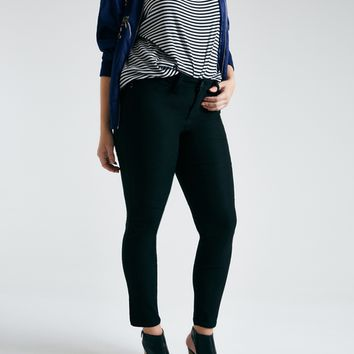 Plus Size Colored Skinny Jeans   Wet Seal Plus