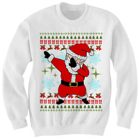 UGLY CHRISTMAS SWEATER DAB SANTA SWEATER FUNNY CHRISTMAS SWEATERS CHEAP GIFTS CHEAP SWEATERS LADIES MENS TOPS TEES #DAB CHRISTMAS GIFTS from CELEBRITY COTTON