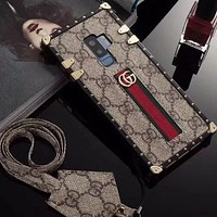 Perfect Gucci Fashion  Phone Cover Case For Samsung Galaxy s9 s9Plus  iphone 6 6s 6plus 6s-plus 7 7plus 8 8plus X