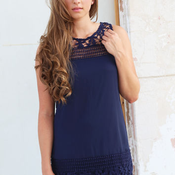 Leave A Trace Crochet Dress