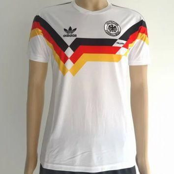 Germany 1990 home Men Soccer Retro Jersey Personalized Name and Number