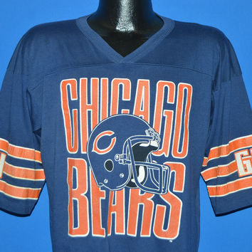 80s Chicago Bears Jersey t-shirt Large