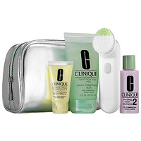 CLINIQUE Cleansing By Clinique Set For Oily Skin