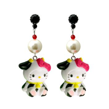 Moo Mascot Earrings – TARINA TARANTINO