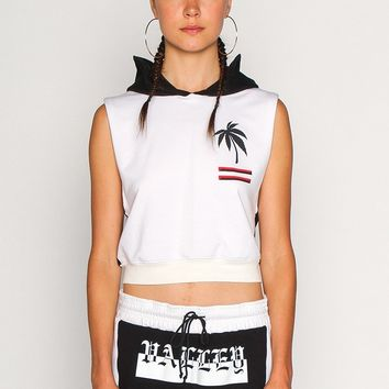 VHC CROPPED HOODIE