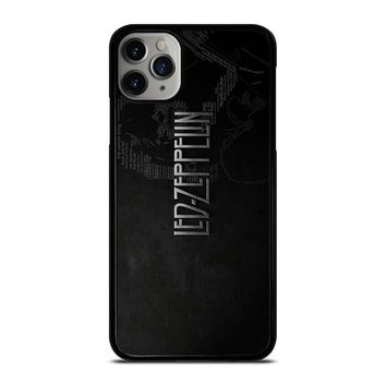 LED ZEPPELIN LYRIC iPhone Case Cover