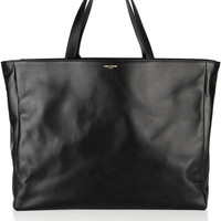 Saint Laurent | The Shopping leather tote | NET-A-PORTER.COM
